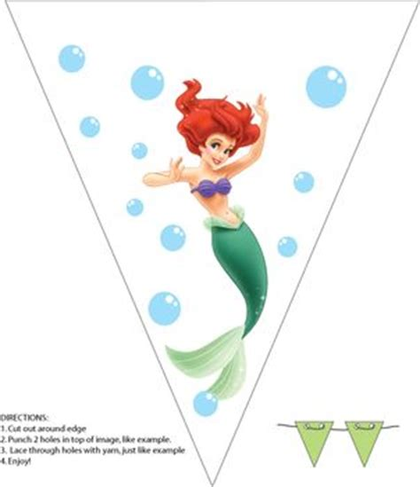 free printable ariel birthday decorations 1000 images about little mermaid birthday printables on