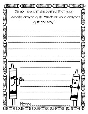 Young Hoosier Books: The Day the Crayons Quit and a
