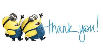 minion thank you clipart clipartxtras