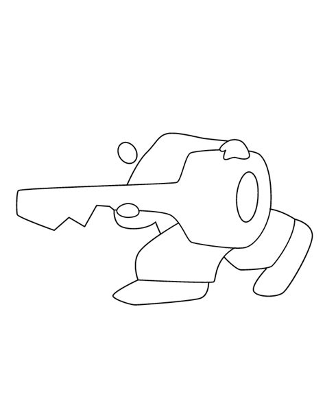 key outline coloring page free coloring pages of key outline clip art