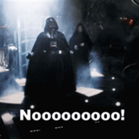 Darth Vader Nooo Meme - darth vader gifs find share on giphy
