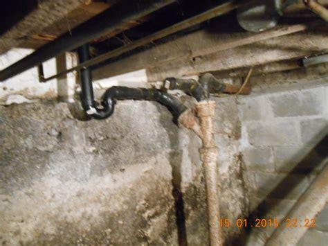 Plumbing In Washing Machine Waste Pipe by Plumbing Washing Machine Drain Into 4 Quot Cast Waste Stack