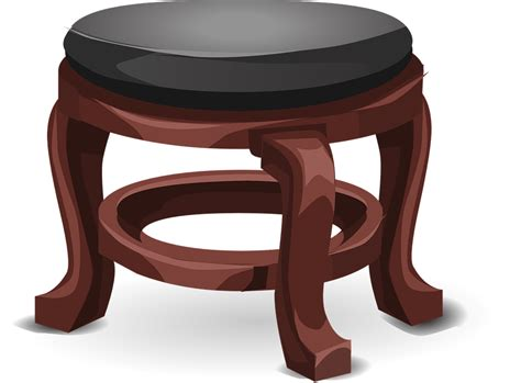 Puku Stool By Baby On Board free vector graphic stool foot stool leather black