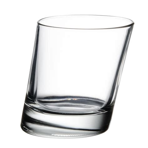 rocks glass libbey 11006721 pisa 9 5 oz slanted rocks glass 12 case