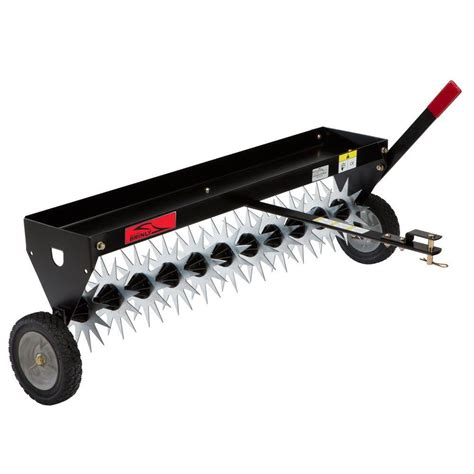 agri fab 48 in tow aerator 45 0299 the home depot