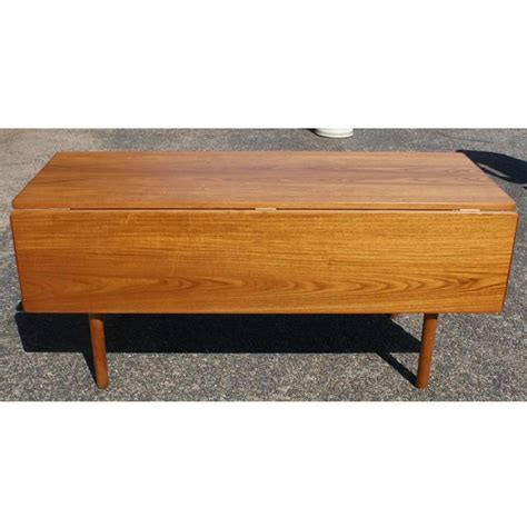 Modern Drop Leaf Table by Mid Century Modern Drop Leaf Dining Table For Sale
