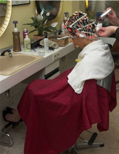 man getting a home perm friday special perm your sissy sissyperm tumblr