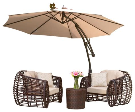 Patio Umbrella Canopy Key West Outdoor Cantilever Patio Umbrella Canopy