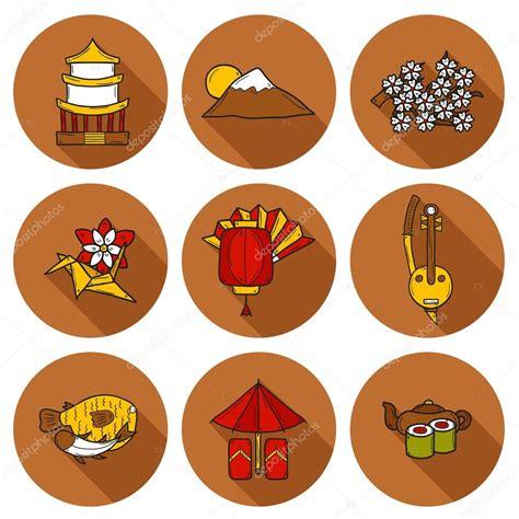 imagenes sobre japon conjunto de 237 cones no estilo de desenho animado m 227 o