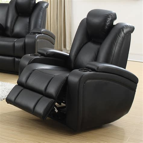 delange power reclining sofa coaster delange power recliner with adjustable headrest