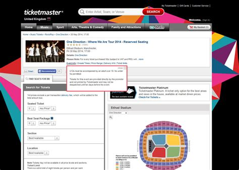 Ticketmaster Box Office Locations by Ticketmaster Help