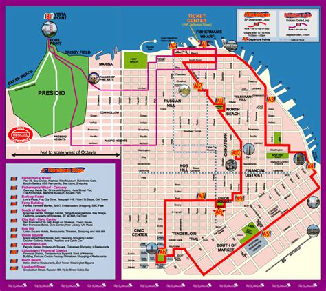 san francisco map attractions pdf mapa do cable car san francisco