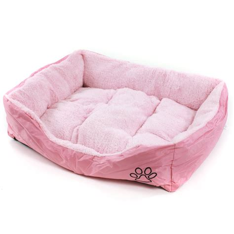 pink dog beds pink faux fur dog beds