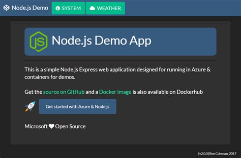 simple node js login github benc uk nodejs demoapp simple demo node js