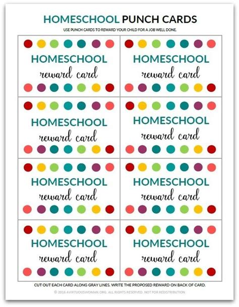 Lunch Punch Card Template by The World S Catalog Of Ideas