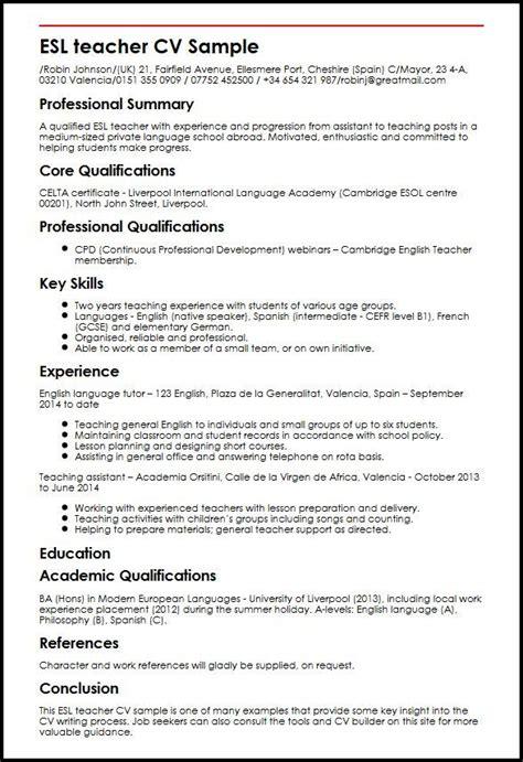 esl resume template esl curriculum vitae editor services for