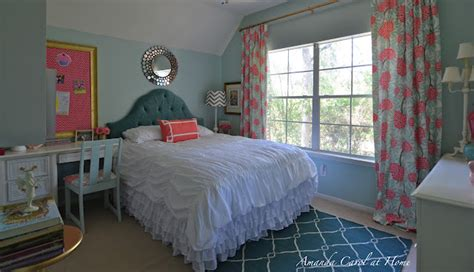 teal bedroom for girls home decorating ideas before and after room makeover