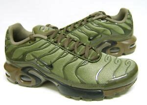 nike air max plus gs tn tuned cargo olive green khaki