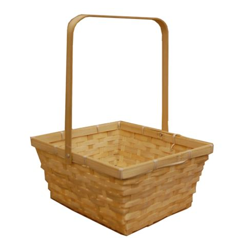 natural swing natural swing handle bamboo basket large the lucky