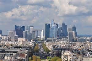 Modern City The Modern City Of Paris Taken From The Eiffel Tower On A