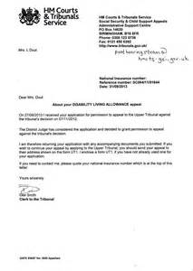 Support Letter For Dla 31 October 2013 Diary Of An Sah Stroke Survivor