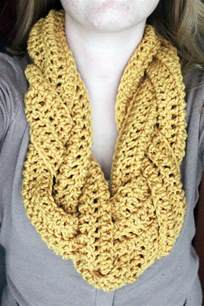 Braided Infinity Scarf Rookie Crafter Braided Crocheted Scarf