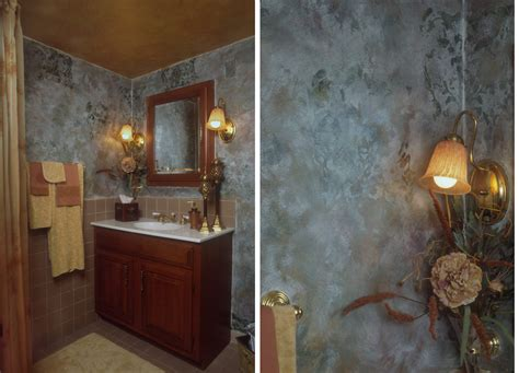 faux painting ideas for bathroom cica lisa designs www cicalisadesigns com refreshing a