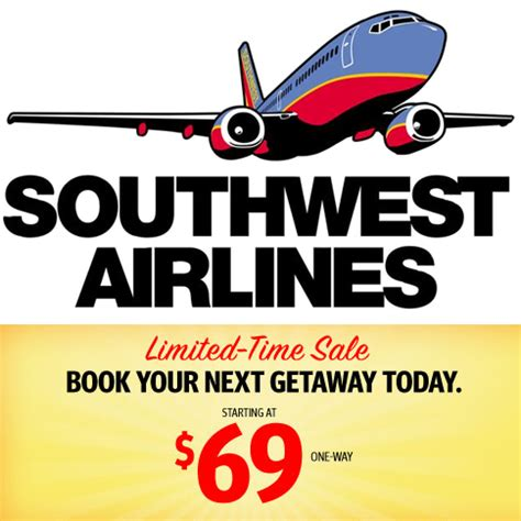 southwest sale southwest airlines airfare sale mybargainbuddy com
