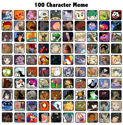 Character Meme - character meme by biscuit rawr on deviantart