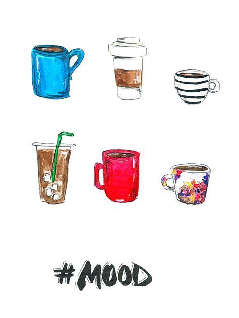 Coffee Print coffee mood printable olya schmidt