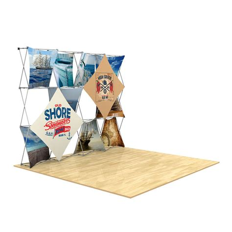 floor display 3d 4x3 3d snap floor display layout 3 impact displays