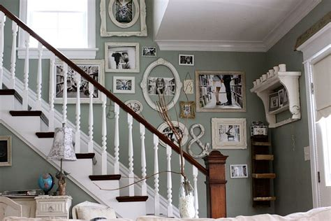fabulous staircases  exude shabby chic panache