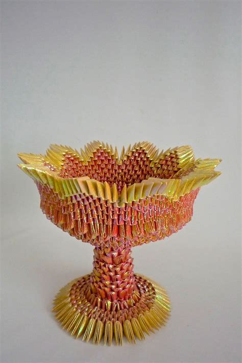 3d Origami Vase Pattern - 17 best images about origami on quilling