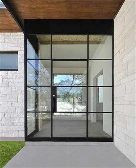 Steel Front Entry Doors With Glass Steel Door Entry With Custom Side Panel And Field Welded 2 Inch Corner Doors