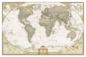 World Map Old by Old World Map 100 Cotton Canvas 25cm X 30cm 10 Quot X 12