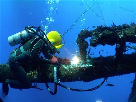 underwater welding welders buceo acero y papa