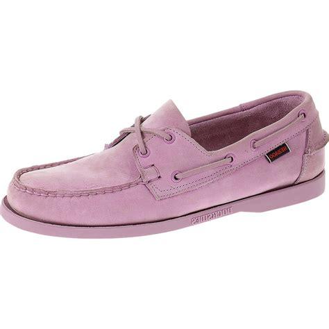 Light Purple Shoes by Sebago Docksides B720152 S Light Purple Shoes Free