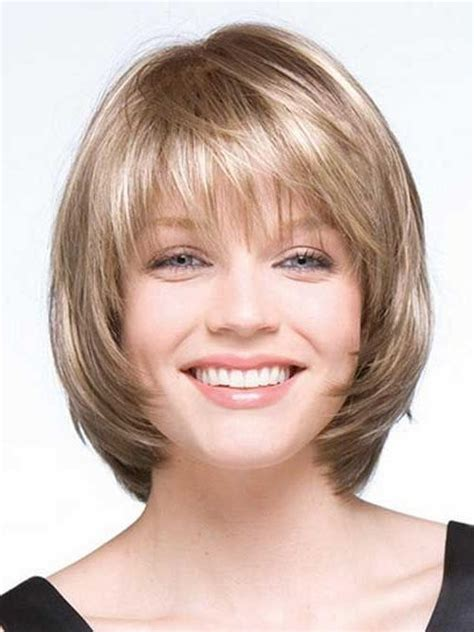 local hairstyles 15 ideas of short layered bob hairstyles for round faces