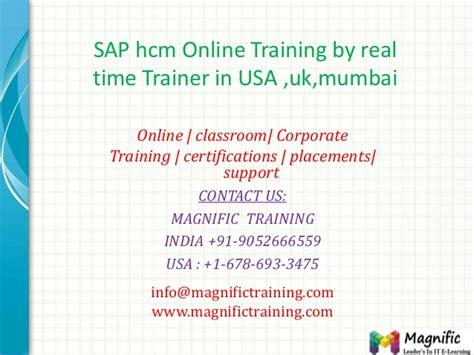 sap tutorial mumbai sap hcm online training by real time trainer in usa uk mumbai