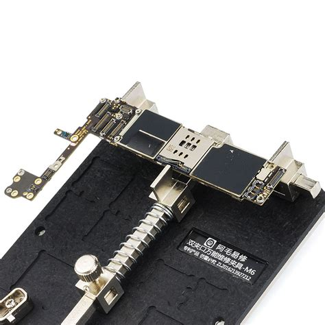wl cl pcb jig fixture with ic holder iphone pcb