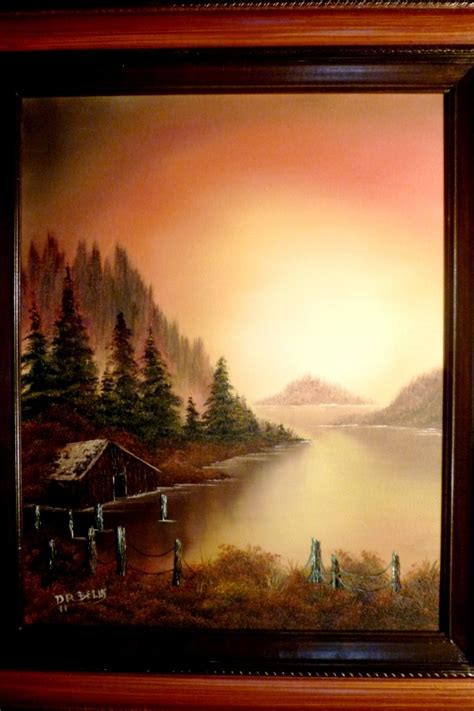 bob ross painting instructor course don belik bob ross 174 painting classes 12 1 11 1 1 12