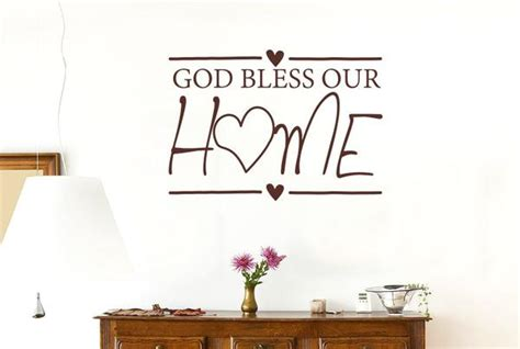 god bless our home wall decor god bless our home wall sticker cut it out wall stickers