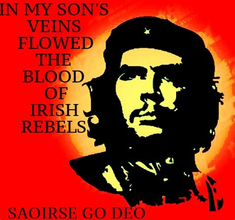 mother son tattoos quotes che guevara and ireland the plough and the stars