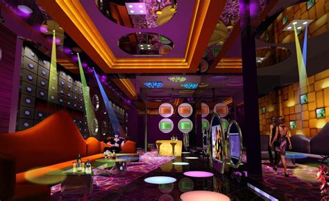 Dazzle colour design for KTV room