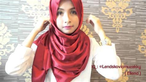 tutorial pashmina rajut glitter modern hijab tutorial for long shawl hijabiworld