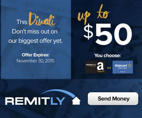 Remitly Amazon Gift Card - remitly coupon codes promotions offers