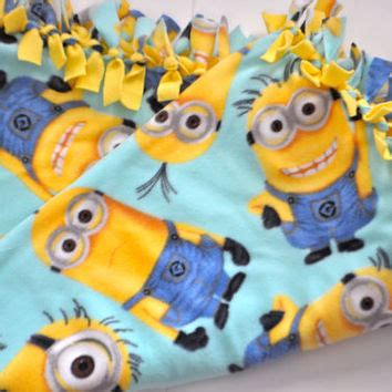 Despicable Me Minion Blanket by Best Fleece Tie Blankets Products On Wanelo