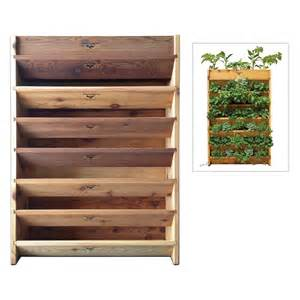 Vertical Garden Planter Gronomics Vertical Garden Planter At Hayneedle