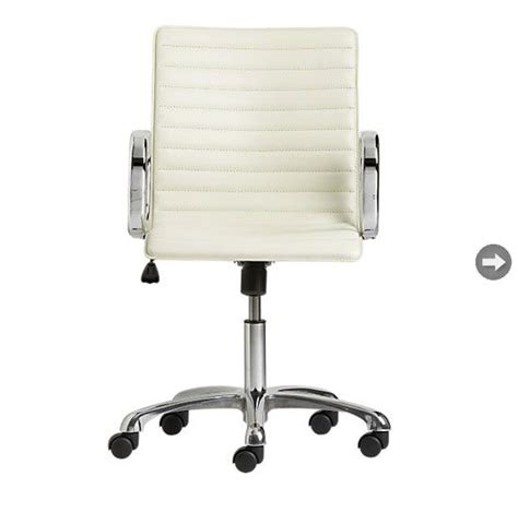Sleek Office Chair by Sleek White Home Office Chair Home Goods