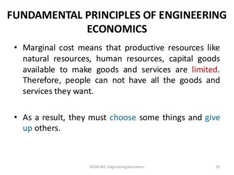 Engineering Economics For Resourcesoriginal engineering economy